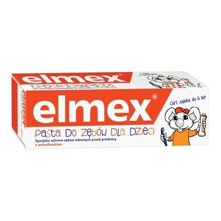 ELMEX PASTA DO ŻĘBÓW DLA DZIECI 0-6 LAT 50ML