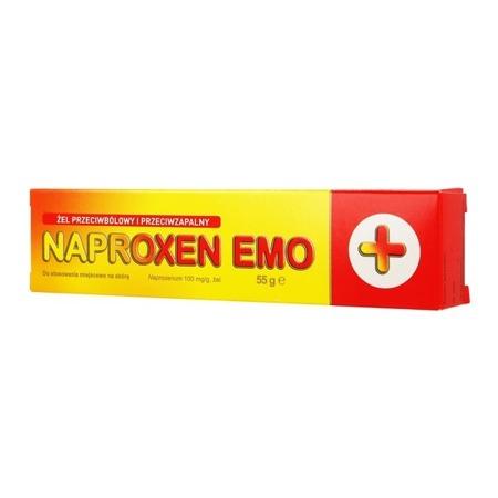 NAPROXEN EMO ŻEL 10% 55G