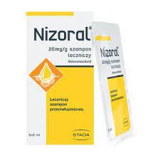 NIZORAL SZAMPON 6 SASZETEK